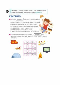 Interactive worksheet Accento
