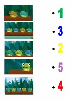 Interactive worksheet How many frogs