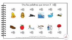 Interactive worksheet Palabras que riman 5