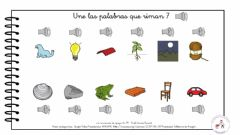 Interactive worksheet Palabras que riman 7