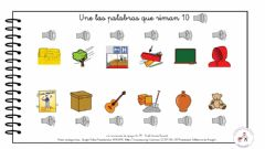 Interactive worksheet Palabras que riman 10
