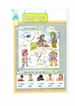 Interactive worksheet Unidad 2-Feelings-Vocabulary
