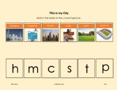 Interactive worksheet This is my City
