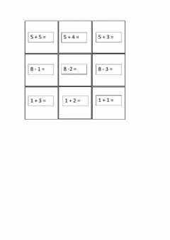 Interactive worksheet Sumas fáciles