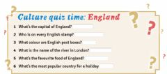 Ficha interactiva England quiz tiger 5 unit 1