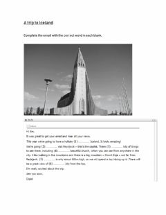 Interactive worksheet A holiday to Iceland