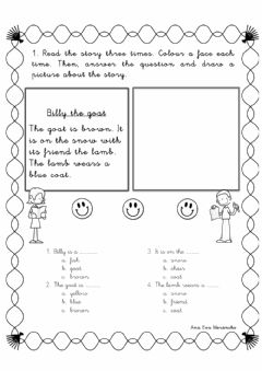 Interactive worksheet Billy the goat