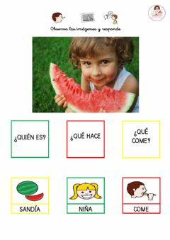 Interactive worksheet Fporma frases sencillas.