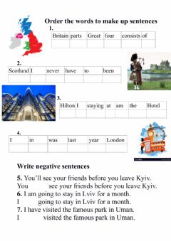 Interactive worksheet Alla Nesvit 8 Unit 5 grammar test