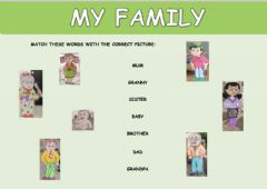 Interactive worksheet My family - 1