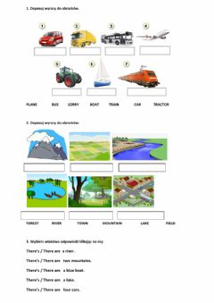 Interactive worksheet New English Adventure 2 unit 7 - OUR WORLD