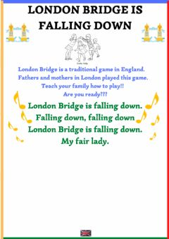 Ficha interactiva London bridge is falling down