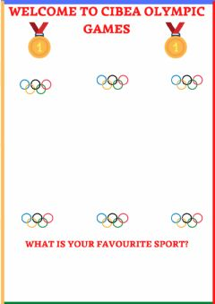 Interactive worksheet Olympic games