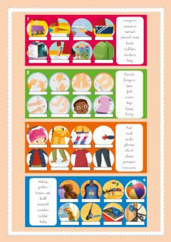 Interactive worksheet Vocabulary Review 1st.
