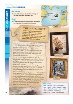 Interactive worksheet The Mayflower