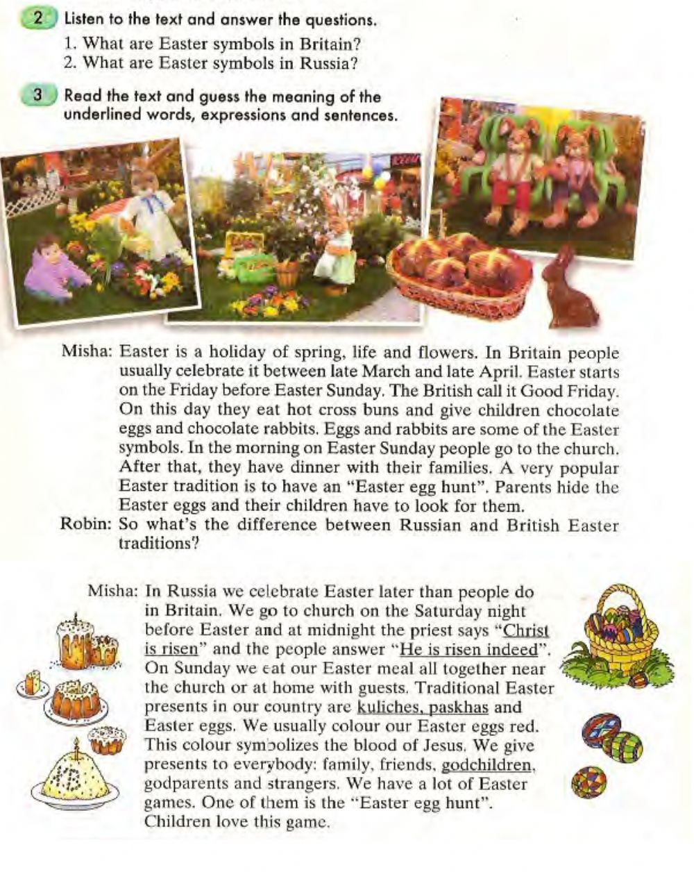 Read the text about easter and write a text about a russian holiday resume designer online