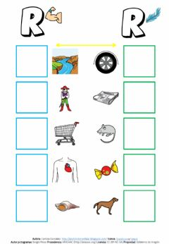 Interactive worksheet ¿R fuerte o suave?