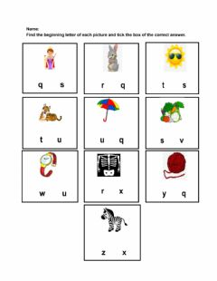 Interactive worksheet ELA worksheet