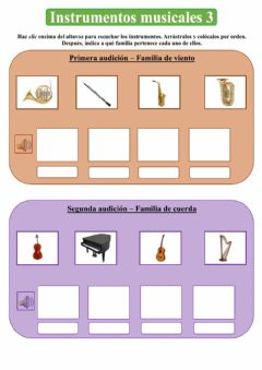 Interactive worksheet Intrumentos musicales 3