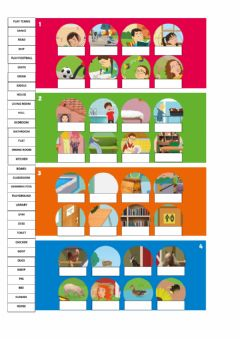 Interactive worksheet Vocabulary Review. Units 1 to 4