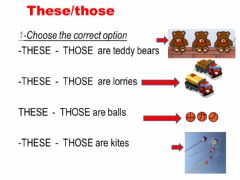 Interactive worksheet These-those