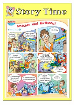 Interactive worksheet Story time 1