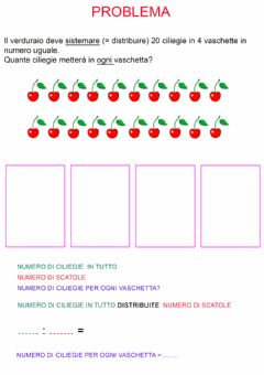 Interactive worksheet Problema distribuzione