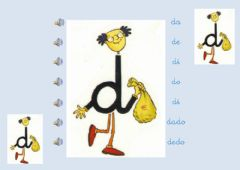 Interactive worksheet Lectura letra D