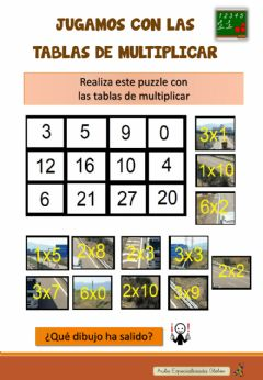 Interactive worksheet Repasamos las tablas de multiplicar