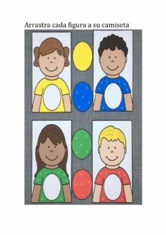 Interactive worksheet INFANTIL COLORES