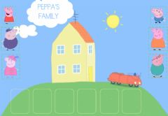 Interactive worksheet PEPPA'S FAMILY