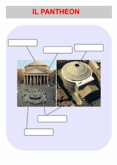 Interactive worksheet Il Pantheon