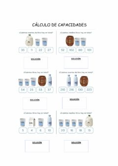 Interactive worksheet Calculo capacidades