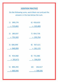 Interactive worksheet Addition with regrouping