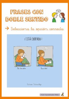 Interactive worksheet Frases con doble sentido
