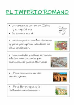 Interactive worksheet Imperio romano