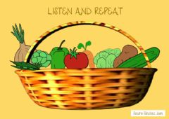 Interactive worksheet Listen and repeat
