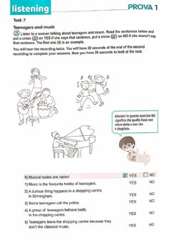 Interactive worksheet Teenagers and music