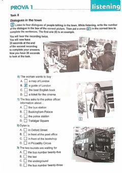 Interactive worksheet Dialogues in the town