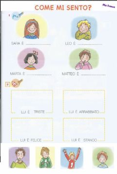 Interactive worksheet Come mi sento