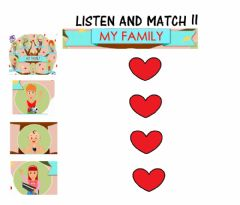Interactive worksheet This is my family II