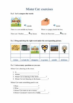 Interactive worksheet Present Continuous A1: exercises