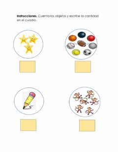 Interactive worksheet Conjuntos finitos