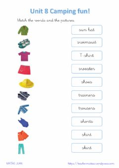 Interactive worksheet Clothes 3