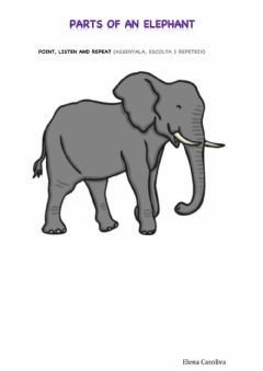 Interactive worksheet Parts of an Elephant