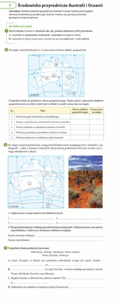 Interactive worksheet Australia