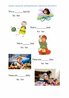 Interactive worksheet Choose the right pronoun