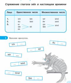 Interactive worksheet Verb SEIN