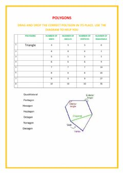 Interactive worksheet Geometry