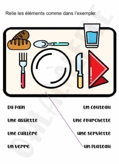 Ficha interactiva Exercices alimentation